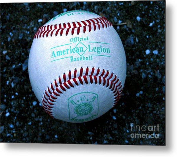 Legion Baseball Metal Print by Colleen Kammerer