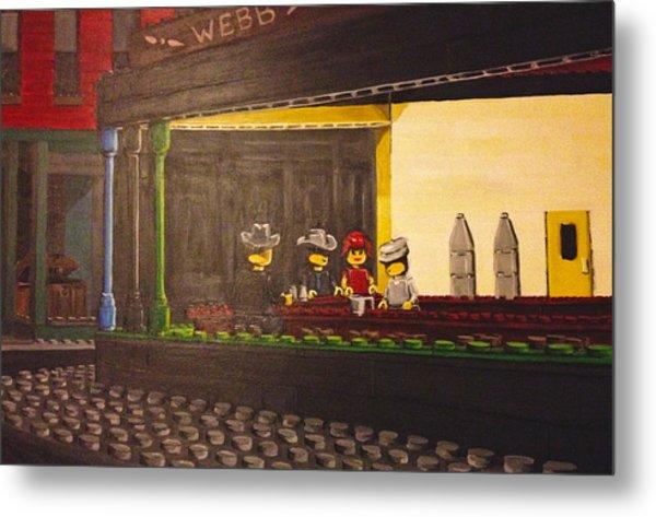 Legohawks Metal Print by Patrick Webb
