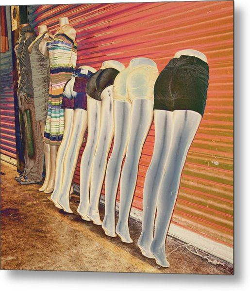Legs 846a Metal Print
