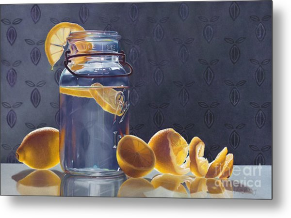 Lemonade Metal Print by Arlene Steinberg