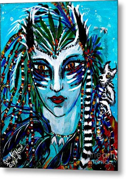 Lemuria Metal Print by Kath MoonArts