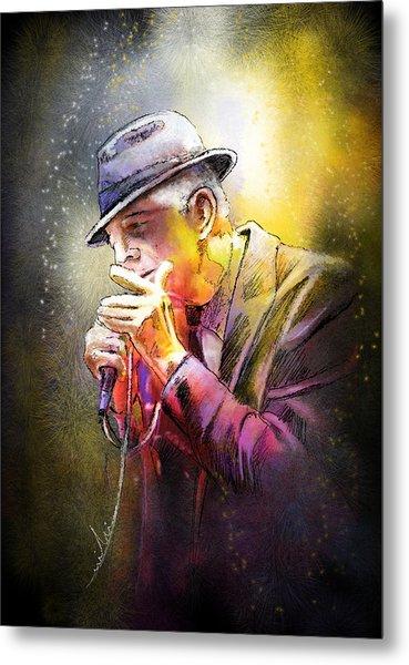 Leonard Cohen 02 Metal Print