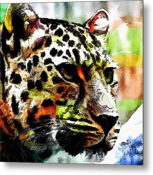 Leopard - Leopardo Metal Print
