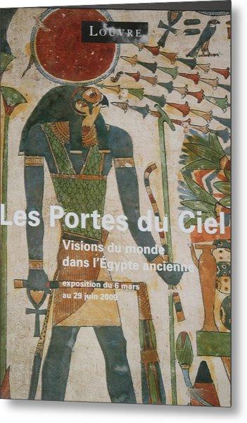 Les Portes Due Ciel Metal Print by Phoenix De Vries