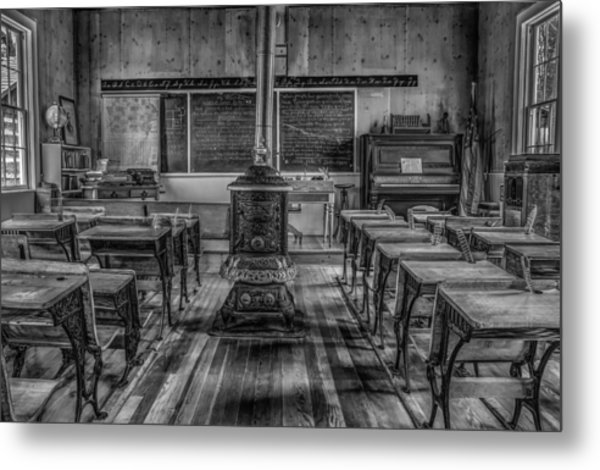 Lesson Plan Metal Print by Ray Congrove