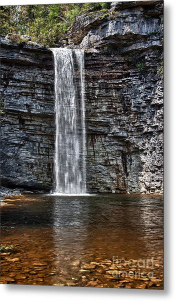 Let It Flow Metal Print