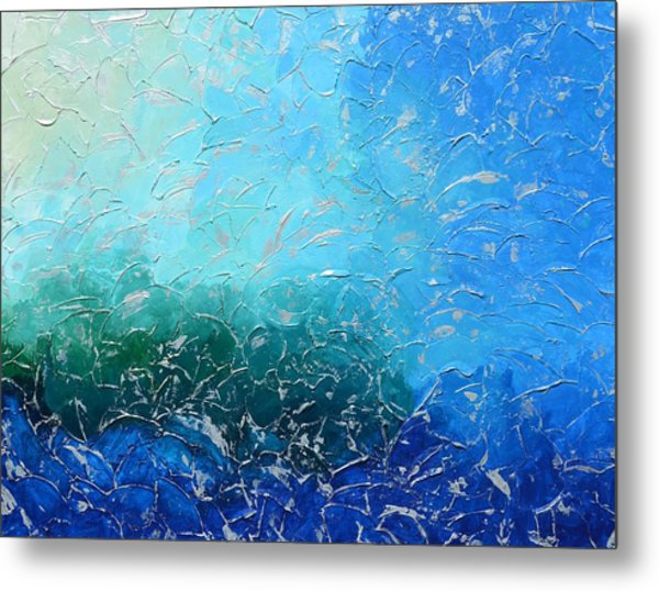 Let The Sea Roar With All Its Fullness Metal Print