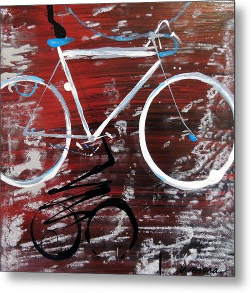 Let's Ride I Metal Print by Vivian Mora