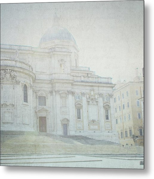 Letters From Roma Metal Print