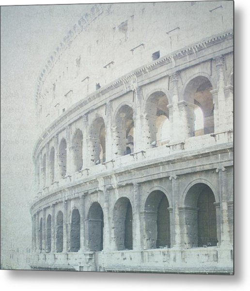 Letters From The Colosseum Metal Print