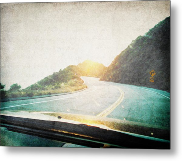 Letters From The Road Metal Print