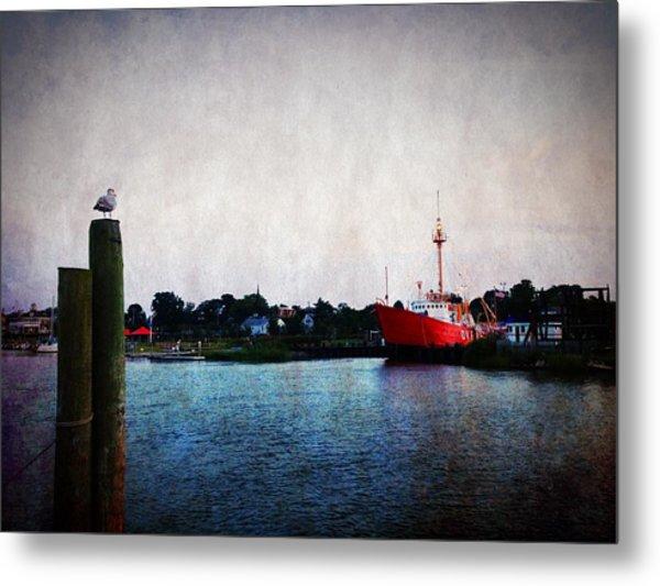Lewes - Overfalls Lightship 2 Metal Print