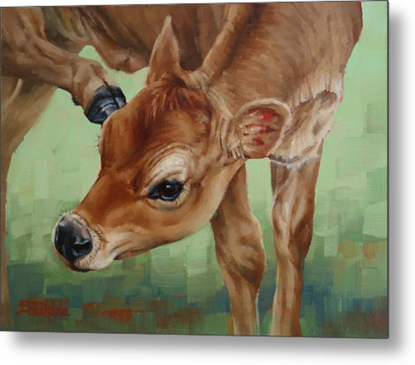 Libby With An Itch Metal Print
