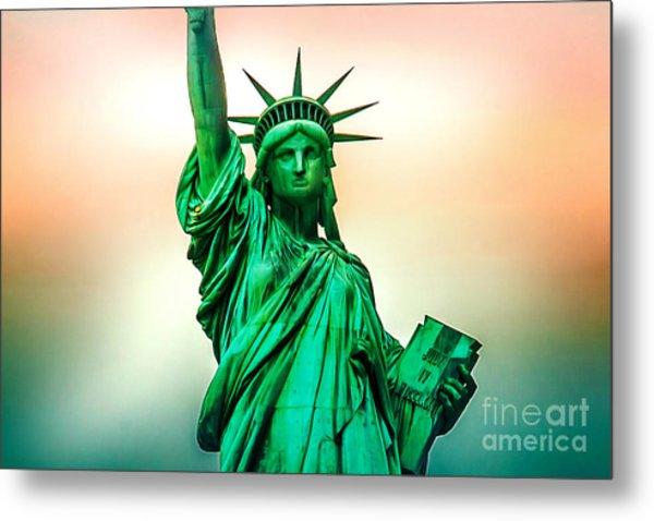 Liberty And Beyond Metal Print