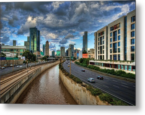 Metal Print featuring the photograph Life In The Fast Lane by Ronsho