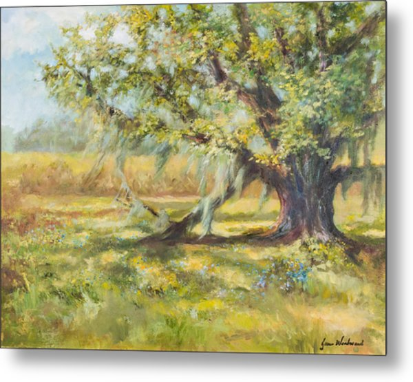Life In The Low Country Metal Print by Jane Woodward