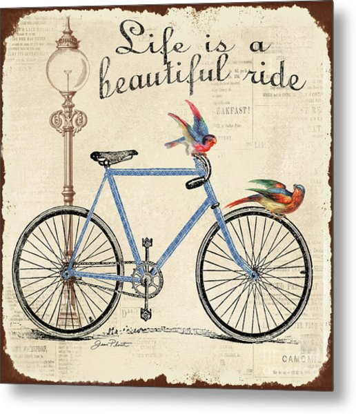 Life Is A Beautiful Ride Metal Print