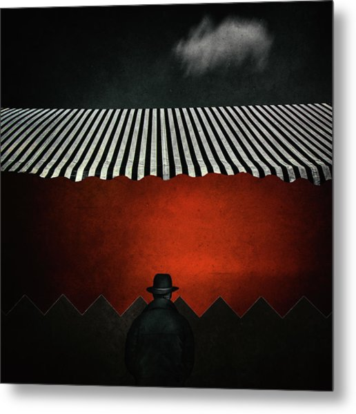 Life Is A Circus Metal Print