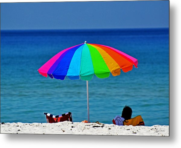 Life Is A Sunny Beach 001 Metal Print