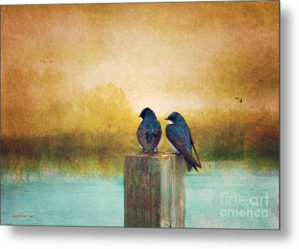 Life Long Friends - Days End Metal Print
