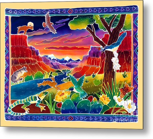 Life Of The Desert Metal Print by Harriet Peck Taylor