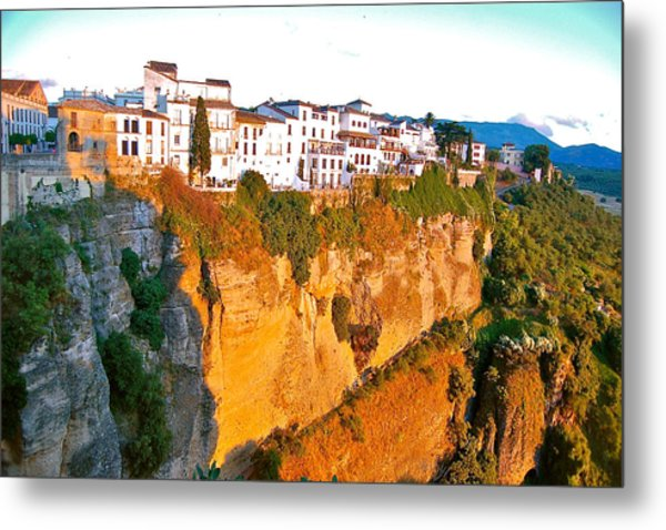 Metal Print featuring the photograph Life On The Edge by HweeYen Ong