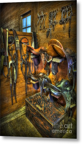 Life On The Ranch Tack Room Photograph By Lee Dos Santos