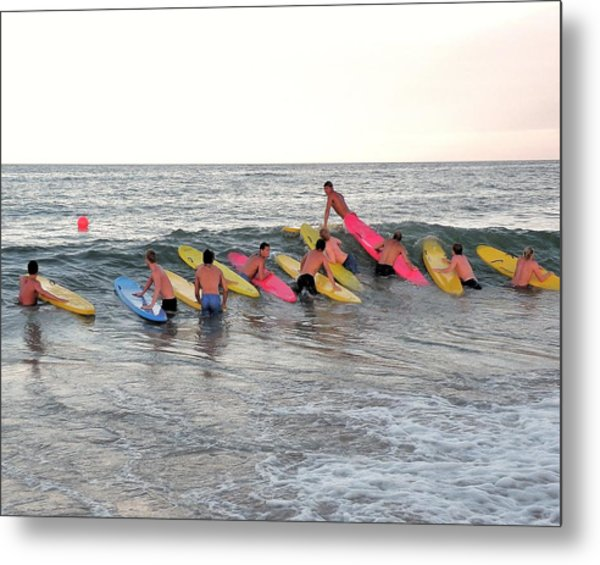 Lifeguard Competition Metal Print
