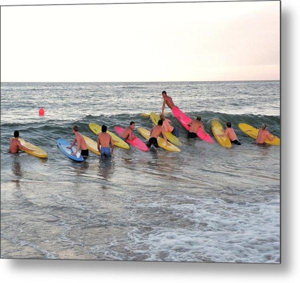 Lifeguard Competition Metal Print