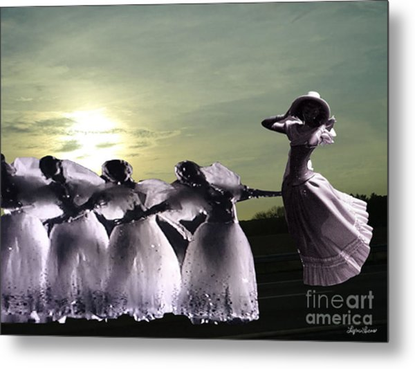 Lift Up Your Spirit Metal Print