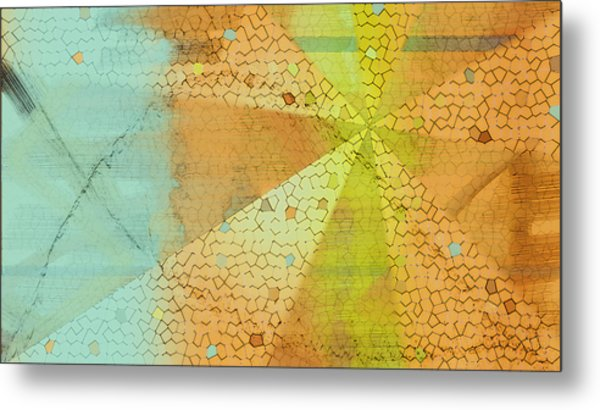 Light And Color Layers Metal Print