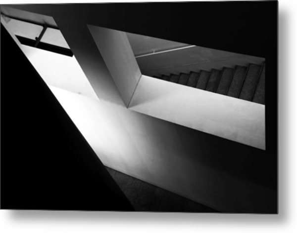 Light And Shadow Play Metal Print by Fernando Alves