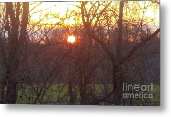 Light At Sunrise Metal Print