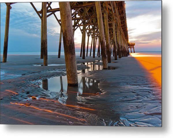 Metal Print featuring the photograph Light Before Dawn by Francis Trudeau