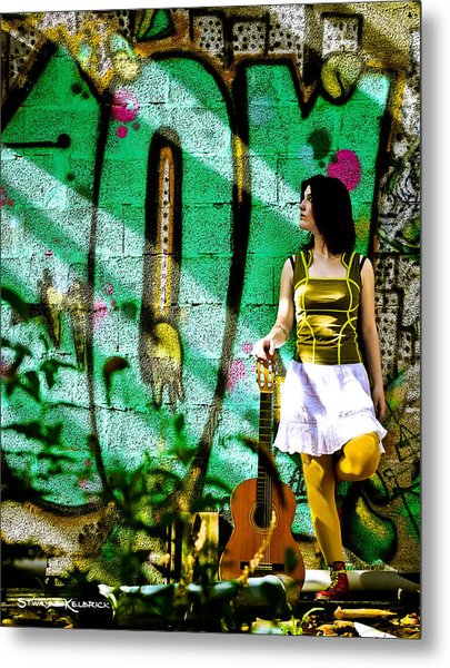 Light Call Metal Print