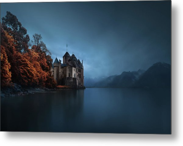 Light Fortification. Metal Print