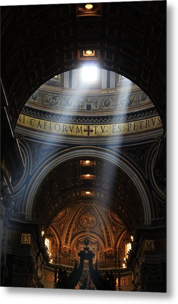 Light From Above Metal Print