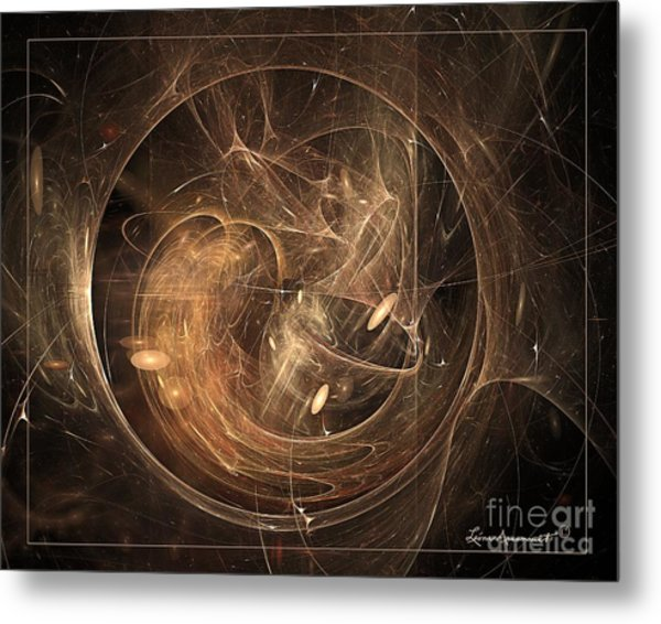 Light In Motion Metal Print by Leona Arsenault