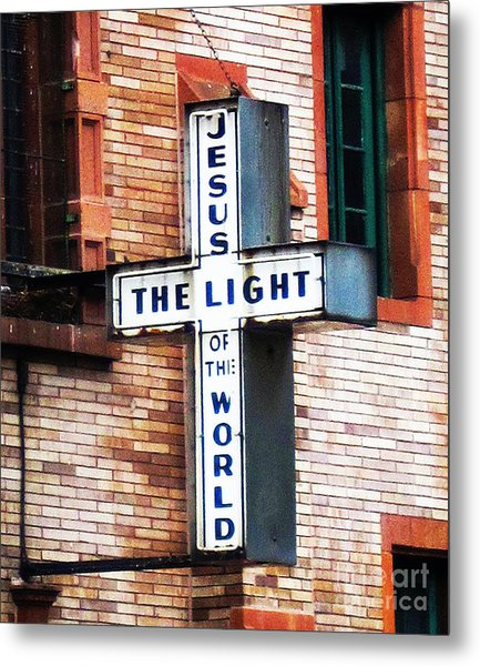 Light In The City Metal Print
