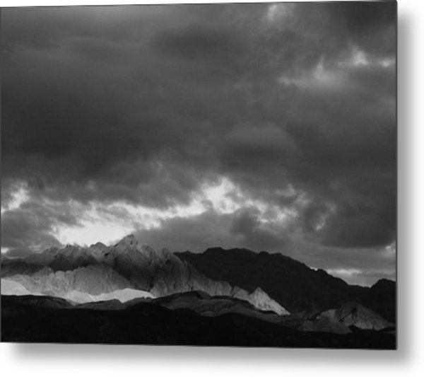 Light In The Mountains Metal Print by Jenny Fish