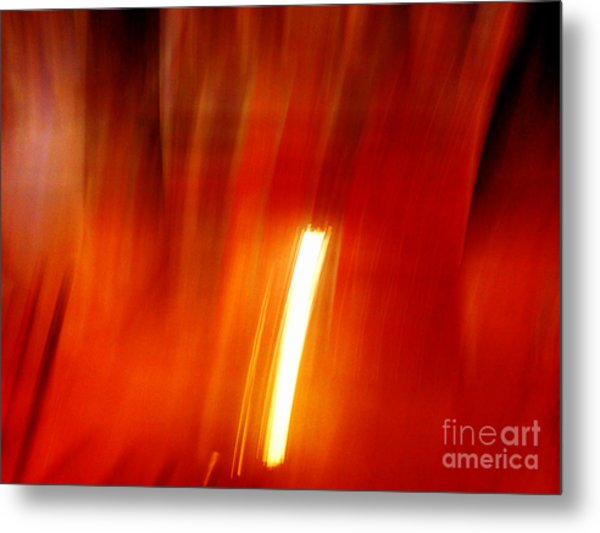 Metal Print featuring the photograph Light Intrusion by Cristina Stefan
