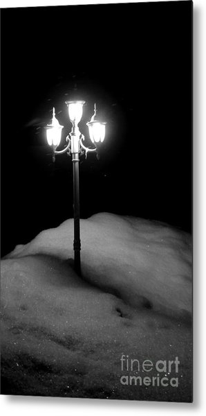 Light My Way  Metal Print