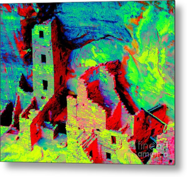 Light Of The Ancients Metal Print