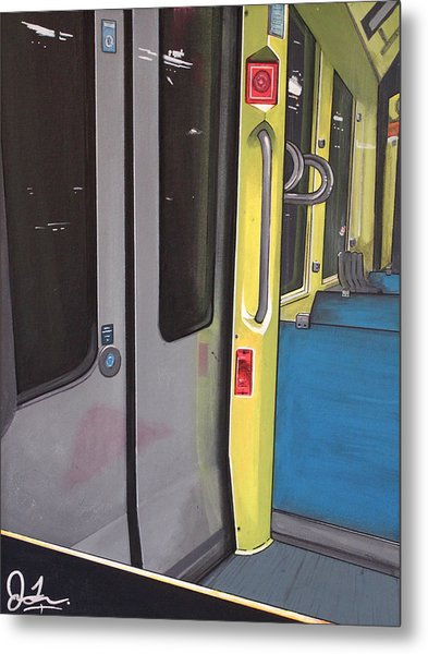 Light Rail Metal Print