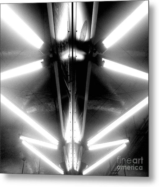 Light Sabers Metal Print