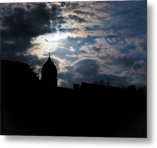 Light Shines In Darkness 2 Metal Print by Marie Sullivan