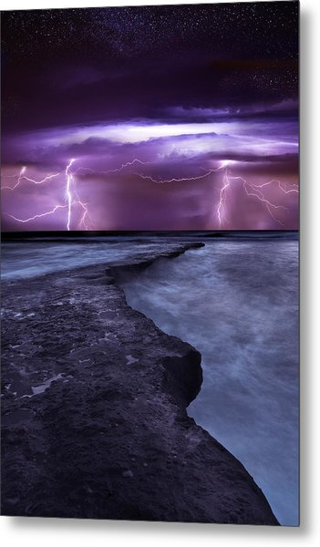 Light Symphony Metal Print