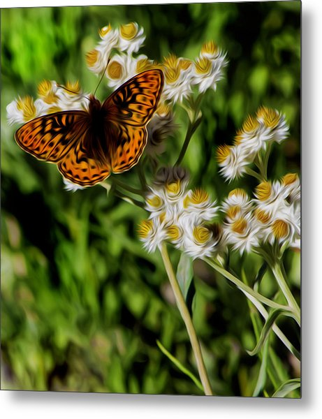 Light To The Touch. Metal Print