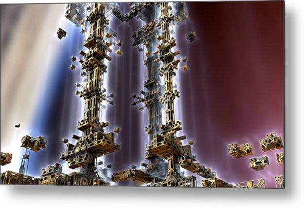 Light Towers Metal Print