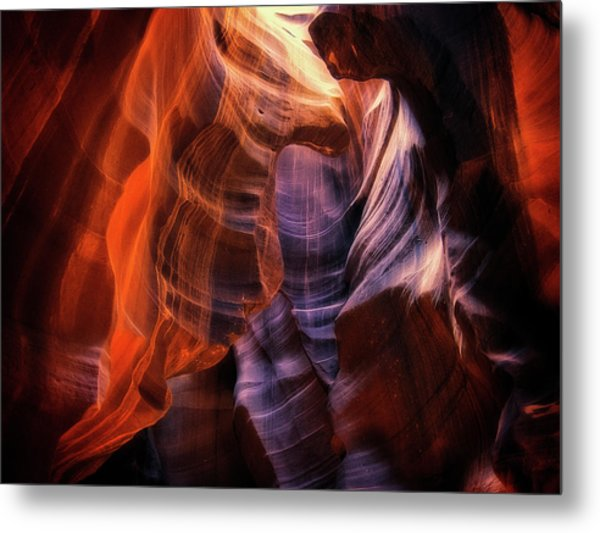 Light Up Above Metal Print by Randy Dietmeyer